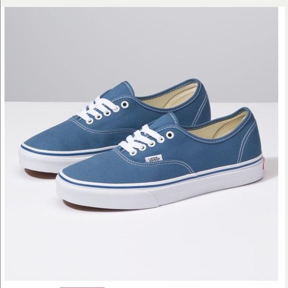 Vans Shoes | Classic Vans Navy Blue